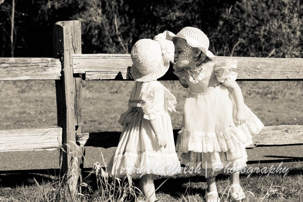 Vintage-country children's photoshoot | Angela Welsh Designs