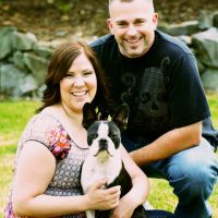 Kim and Dave McClarty engagement photo shoot | Angela Welsh Designs
