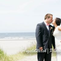 Jessica and Dan Nicewonger Beach Wedding Photo Shoot | Angela Welsh Designs